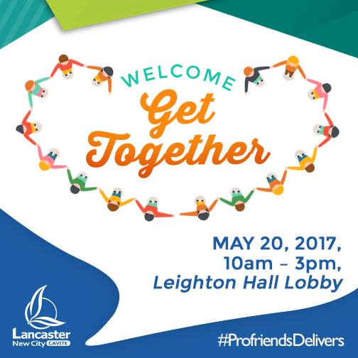 welcome get together this coming saturday