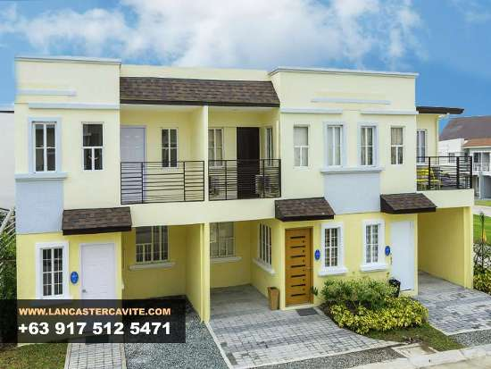 Thea House Model In Lancaster New City Cavite House For Sale